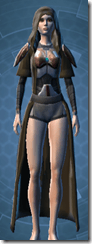 Advanced Composite Flex Body Armor - Female Front