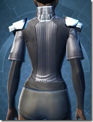 Avenger Chestguard - Female Back