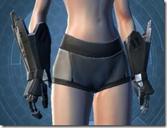 B-300 Cybernetic Female Gauntlets