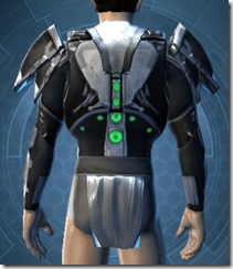Concentrated Battle Chestguard - Male Back