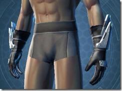 Dynamic Brawler Male Gauntlets