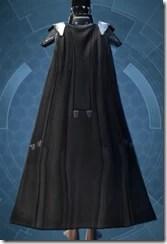 Memory Fiber Bady Armor - Female Back