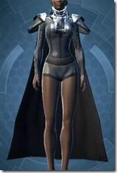 Memory Fiber Bady Armor - Female Front