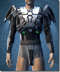 Reflection Fiber Body Armor - Male Front