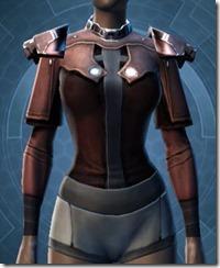 Reinforced Fiber Chestguard - Female Front