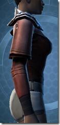 Reinforced Fiber Chestguard - Female Right