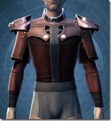 Reinforced Fiber Chestguard - Male Front