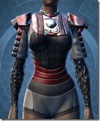 Rigid Flex Chestguard - Female Front