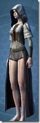 Rigid Flex Chestguard - Female Left