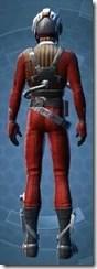 Squadron Leader - Male Back