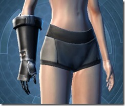 B-400 Cybernetic Female Gauntlets