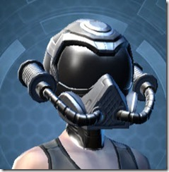 B-400 Cybernetic Female Helmet