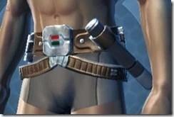 Drifter Male Belt