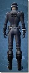 Intelligence Officer - Male Back