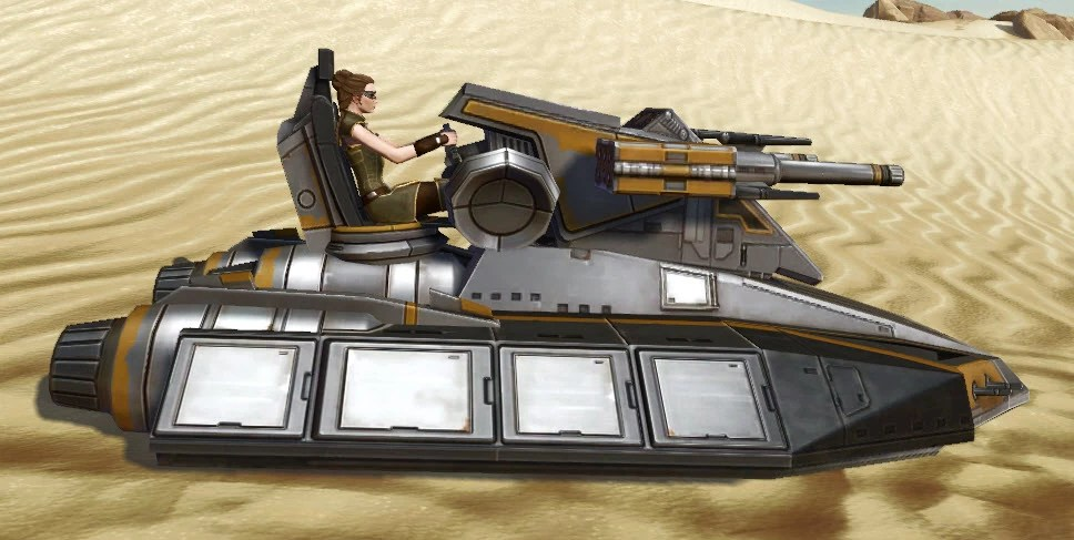 Landside Assault Speeder Right