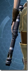 Reckoning's Exposed Saberstaff Stowed