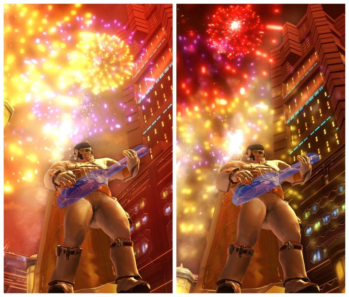 Xantha solo and Nar Shadda fireworks