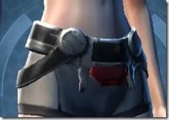 Armored Interrogator Female Belt