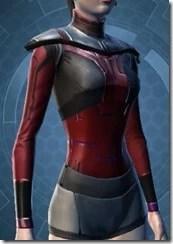 Armored Interrogator Female Breastplate