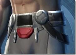 Armored Interrogator Male Belt