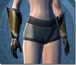 Zakuul Knight Female Gauntlets