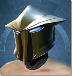 Zakuul Knight Male Helmet