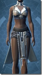 Banded Cuirass Imp Force - Female Front