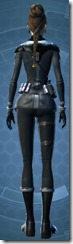Clandestine Officer - Female Back