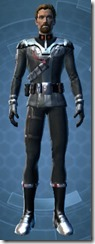 Clandestine Officer - Male Front