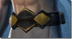 Thexan Male Belt