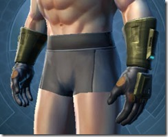 Cynosure Trooper Male Gauntlets