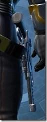 Defiant MK-1 Blaster Pistol Stowed