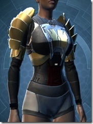 Defiant MK-1 Warrior Female Chestguard
