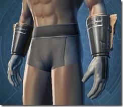 Dune Stalker Male Gauntlets