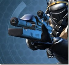 Exarch MK-1 Blaster Rifle Front