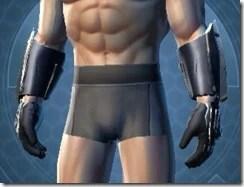 Exemplar Knight Male Gauntlets