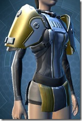 Overwatch Shield Female Breastplate