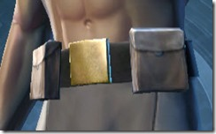 Overwatch Shield Male Belt