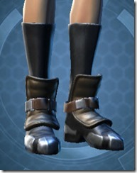 Renowned Duelist Female Boots