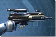 Ultimate Exarch Blaster Pistol Right