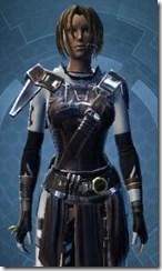 Veteran's Agent - Female Close