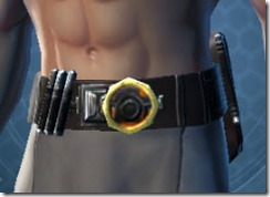 Veteran's Agent Male Belt