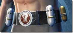 Veteran's Knight Male Belt
