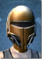 Conquered Exarch's Meditation Female Headgear