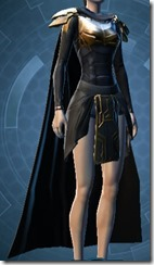 Conquered Exarch's Meditation Female Robe