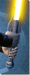 Crystalline Pummeler's Offhand Saber MK-3 Back
