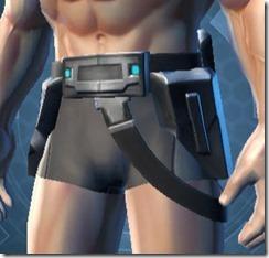 Defiant Asylum MK-26 Male Belt