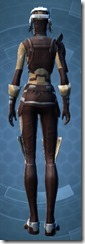 Outlander Patroller - Female Back