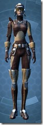 Outlander Patroller - Female Front