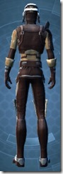 Outlander Patroller - Male Back
